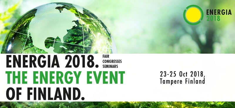 Energia 2018 gathers the fields best technology and machinery